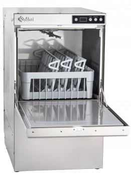 Машина стаканомоечная МПК-400Ф фронтальная, 700 стаканов/час, 3 программы мойки, 2 дозатора (моющий, ополаскив