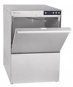 Машина посудомоечная МПК-500Ф-01 фронтальная, 500 тарелок/час, 2 программы мойки, 2 дозатора (моющий, ополаски