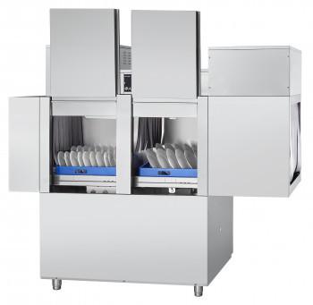 Машина посудомоечная туннельная МПТ-2000 правая, теплообменник, сушка, 2000 тарелок/час, 3 программы мойки, 2