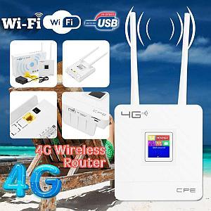 4G LTE модем с Wi-Fi роутером и слотом под SIM-карту