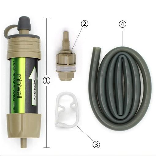 Фильтр походный для очистки воды Miniwell L630
