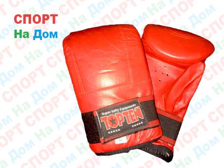 Шингерты боксерские Top Ten (Красные)
