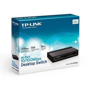 Коммутатор TP-Link TL-SF1016D настольный 16 портов, фото 2