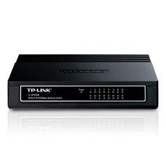 Коммутатор TP-Link TL-SF1016D настольный 16 портов