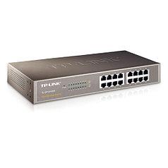 Коммутатор TP-Link TL-SF1016DS настольный 16 портов