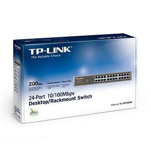 Коммутатор TP-Link TL-SF1024D настольный стоечный, фото 2