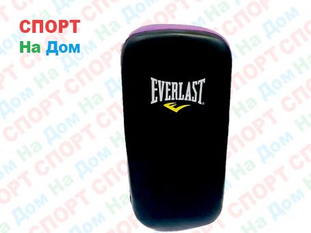 Лапы для бокса, каратэ, таэквондо Everlast кожа (цвет черный, фиолетовый)