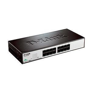Коммутатор D-Link DES-1016D/H1A стоечный 16 портов, фото 2