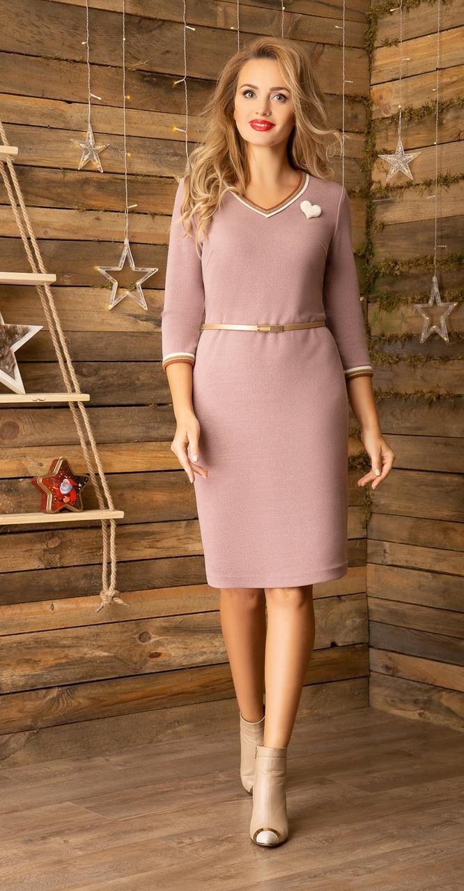 Платье Gizart-5044беж, беж, 48