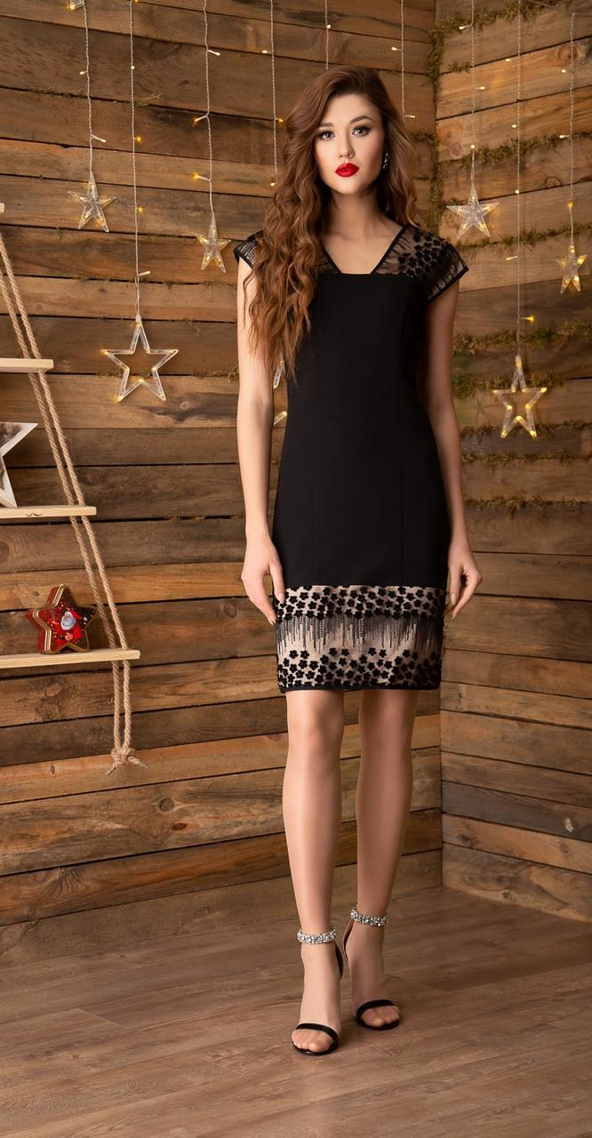 Платье Gizart-5039ц, черный, 44