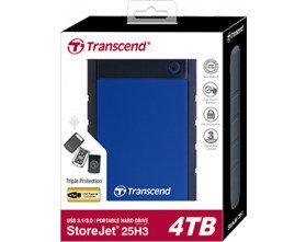 Внешний жесткий диск 2.5 4TB Transcend TS4TSJ25H3B, фото 2