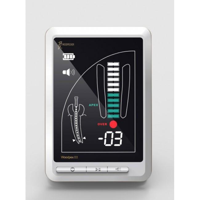 Woodpecker DTE DPEX III Цифровой апекслокатор повышенной точности, с цветным дисплеем