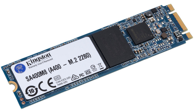Жесткий диск SSD 120GB Kingston SA400M8/120G M2 2280, фото 2