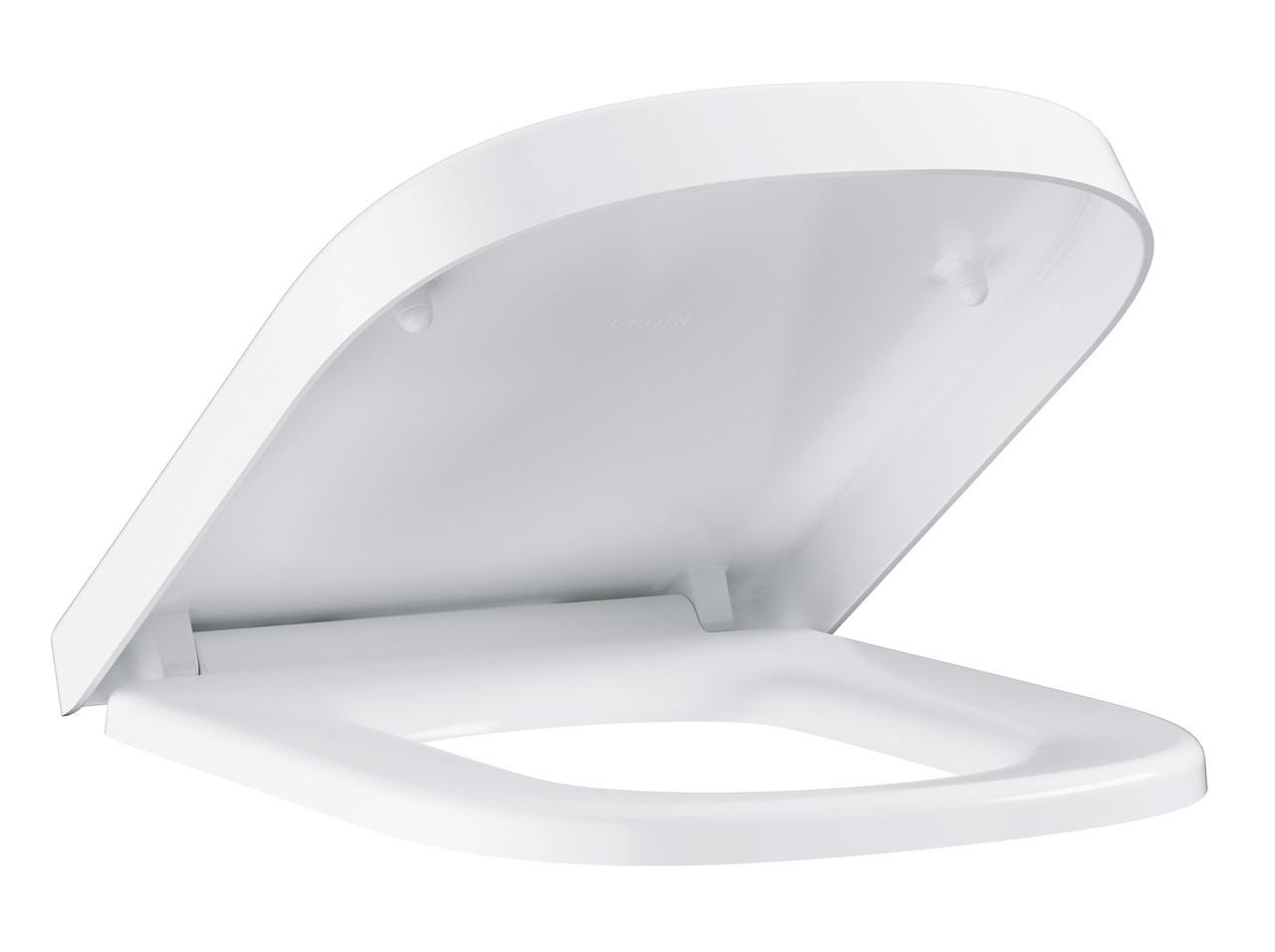 GROHE Сиденье С крышкой для унитаза  Euro Ceramic (с микролифтом), (для подвесного ун. 39206000)