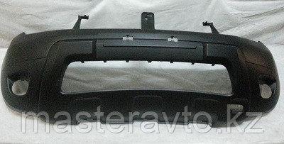 Бампер передний ОРИГИНАЛ ПОД ПТФ Renault Duster 2012-15 NEW