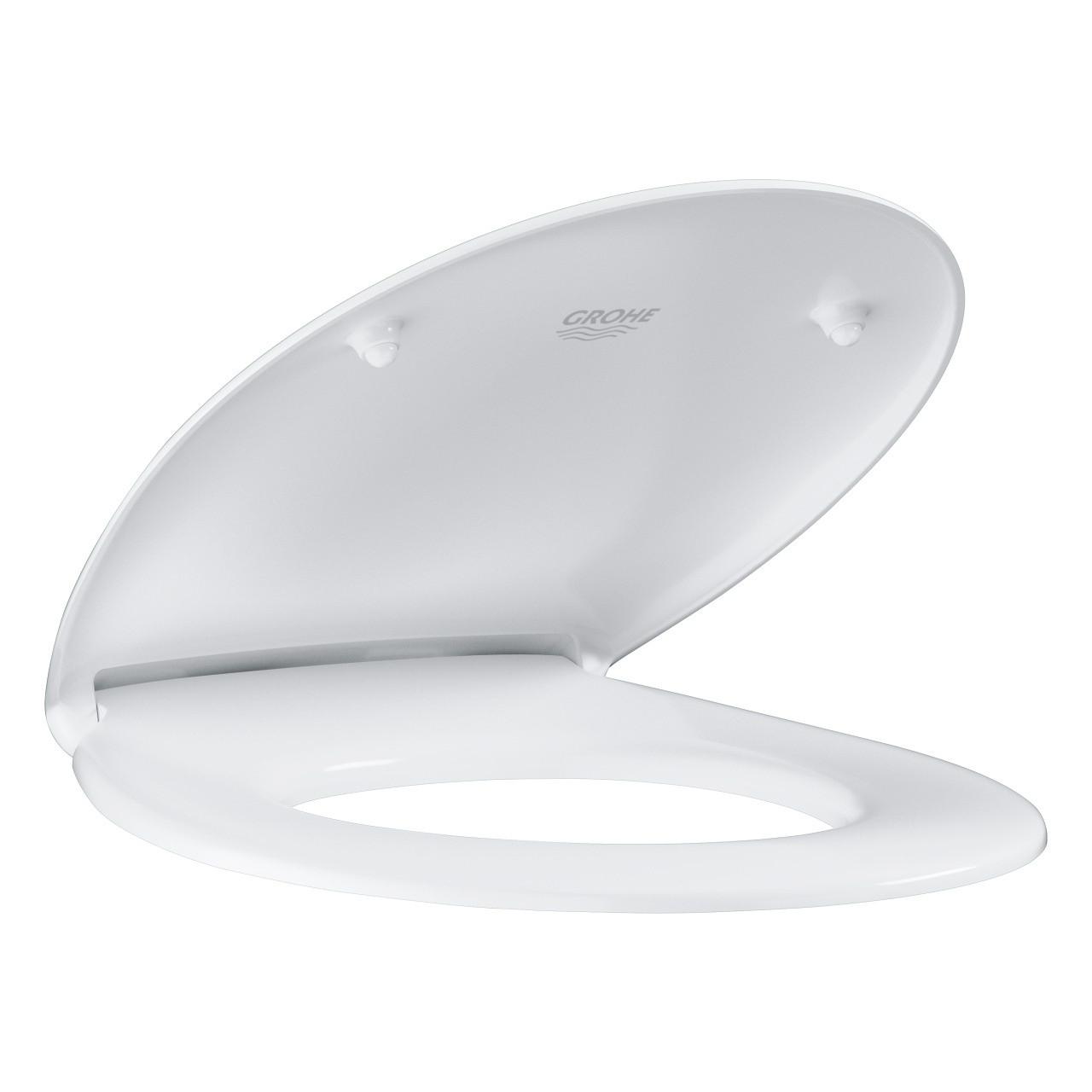 GROHE Сиденье для унитаза Bau Ceramic (с микролифтом), альпин-белый (39493000)