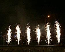 Холодные сценические фонтаны (фейерверки) на свадьбу., фото 2