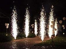 Холодный фонтан для помещения, холодный огонь для свадьбы, фото 2