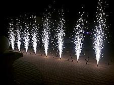 Холодный фонтан для помещения, холодный огонь для свадьбы, фото 3
