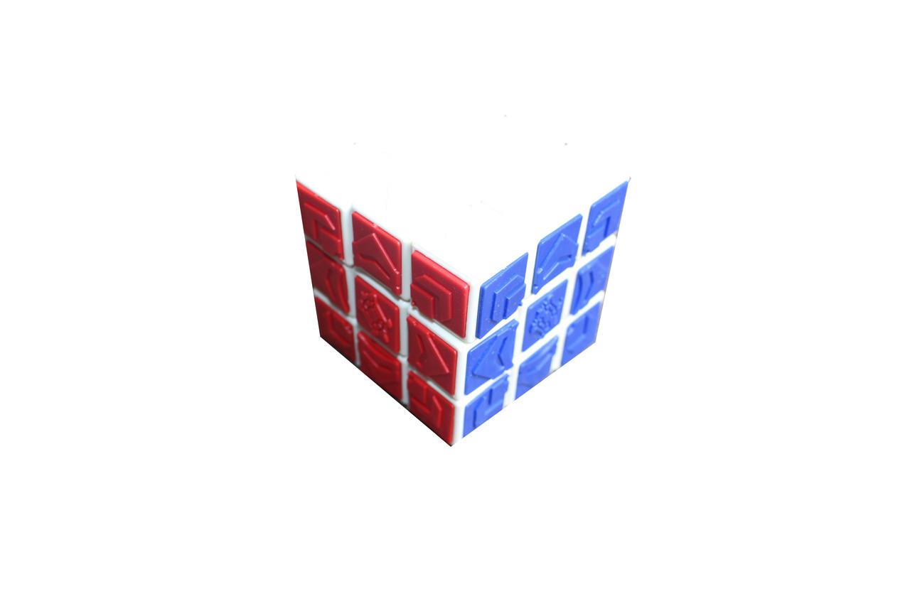 Кубик с узором 654