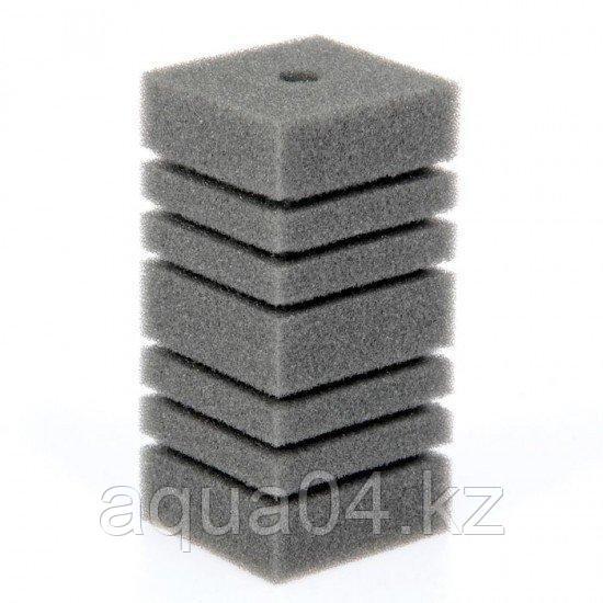 Губка прямоугольная запасная серая для фильтра турбо №10 (8х9х12.3 см)