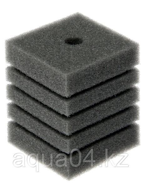 Губка прямоугольная запасная серая для фильтра турбо №13 (11х11х17.5 см)