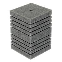 Губка прямоугольная запасная серая для фильтра турбо №14 (12х12х16 см)