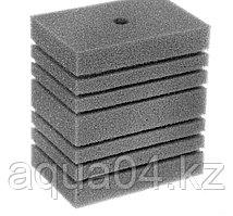 Губка прямоугольная запасная серая для фильтра турбо №15 (10х14х16 см)
