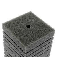 Губка прямоугольная запасная серая для фильтра турбо №16 (12х12х20 см)