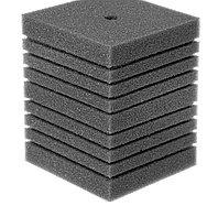 Губка прямоугольная запасная серая для фильтра турбо №19 (15х15х19 см)