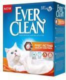 Ever Clean 6л, Fast Acting мгновенный контроль запахов комкующийся наполнитель для кошачьего туалета, фото 1