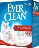 Ever Clean 10л, Multiple Cat для нескольких кошек комкующийся наполнитель для кошачьего туалета