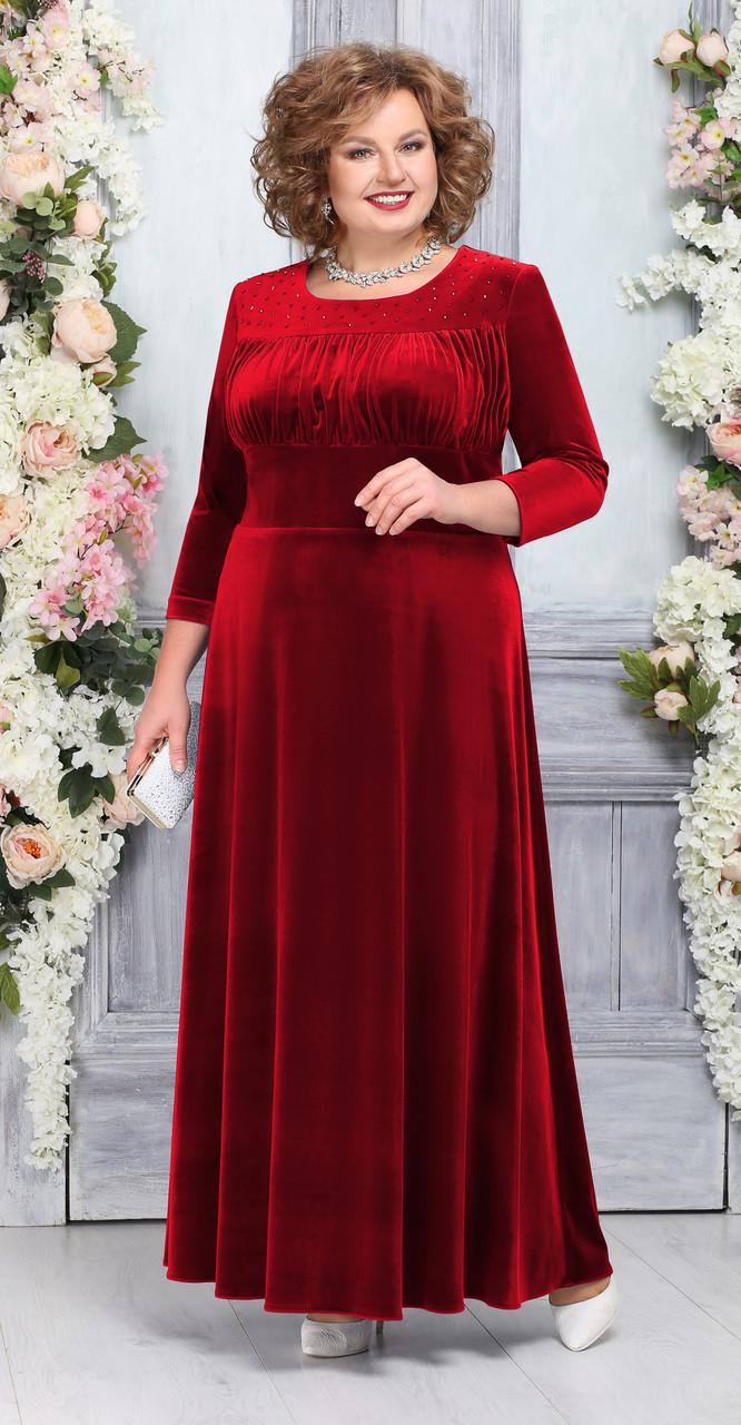 Платье Ninele-5754/3, красный, 54