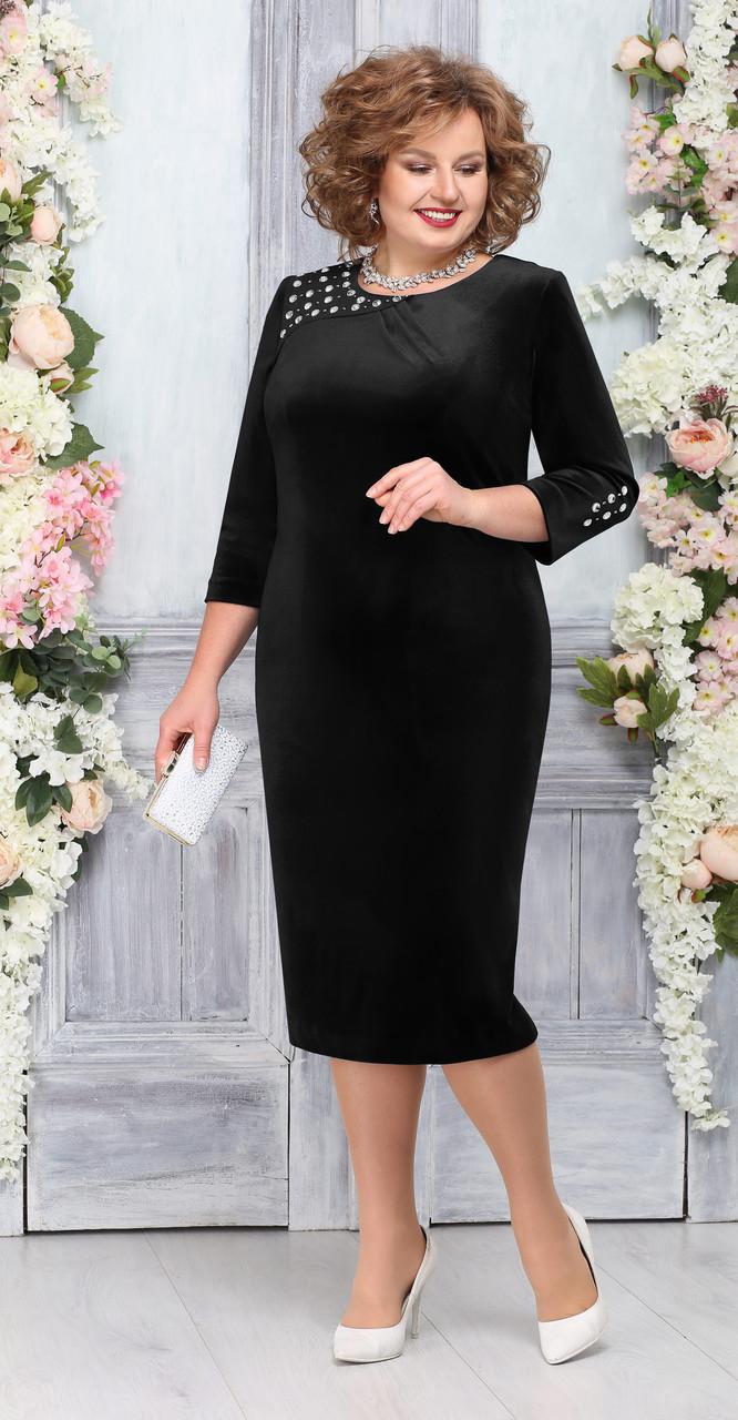 Платье Ninele-5757/1, черный, 52