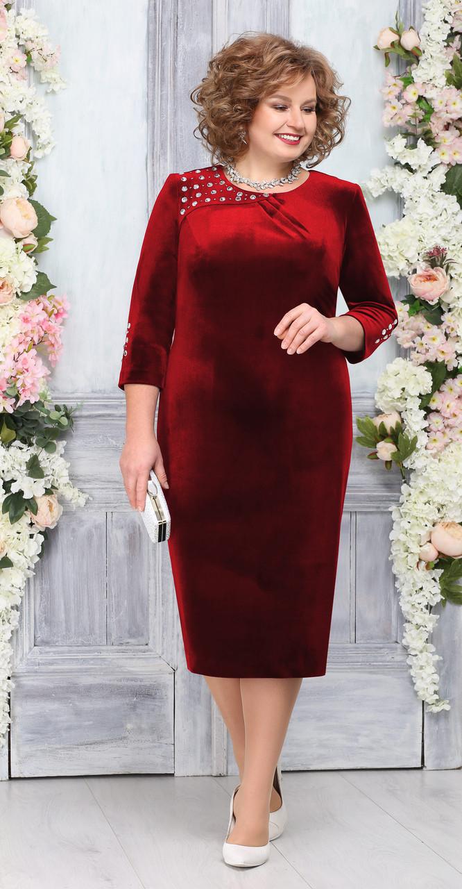 Платье Ninele-5757/3, красный, 52