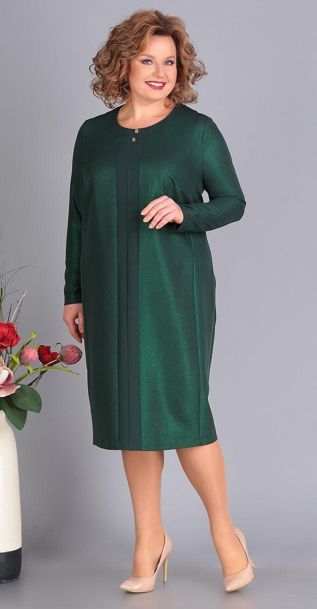 Платье Novella Sharm-3385, изумруд, 64