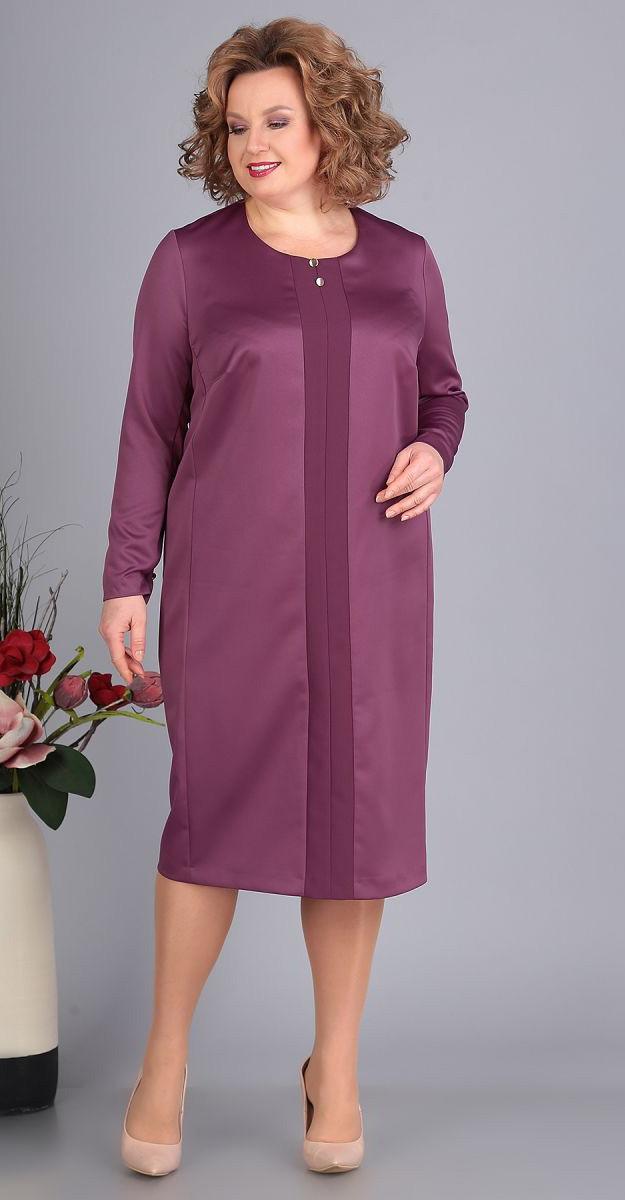 Платье Novella Sharm-3385-3, сирень, 64