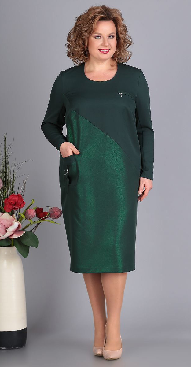 Платье Novella Sharm-3387, изумруд, 60