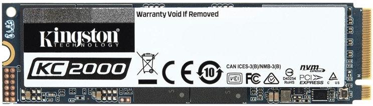 Жесткий диск SSD 250GB Kingston SKC2000M8/250G M2, фото 2