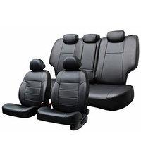 Чехлы сиденья Suzuki Grand Vitara 1997-2002, экокожа, перфорация, 13 предметов, черный