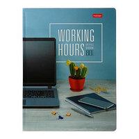 Бизнес-блокнот A5, 80 листов в клетку 'Время управлять', твёрдая обложка, глянцевая ламинация, 5 цветных