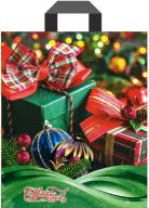 "Пакет (мешок) петля ПВД 34х28см, 60мкм, ""Подарок на Новый Год"", 25 шт"