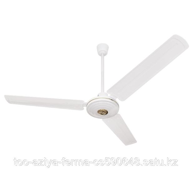 Вентилятор потолочный с металлическими лопастями 1400 см