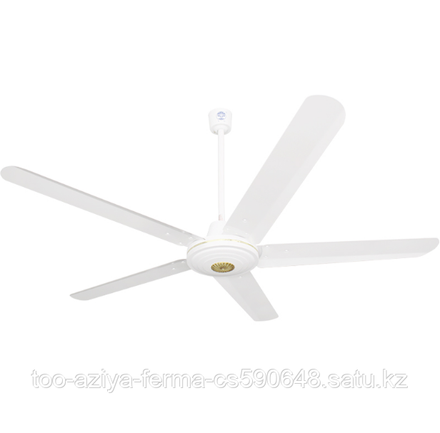 Вентилятор потолочный с 5 металлическими лопастями  1400 см