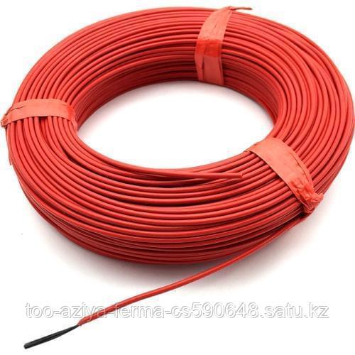 Нагревательный кабель силикагель углеродного волокна 6к/66 Ом