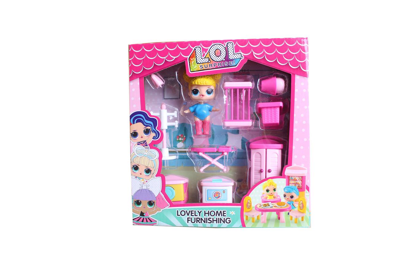 Мебель с куклой 150