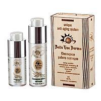 """Набор ANTI AGE """"Belle Vue Derme"""" с пептидами Аматокин и Гексапептид: Крем для лица + Крем для кожи вокруг глаз"""