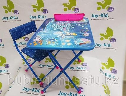 НИКА Набор мебели (стол складн+пенал+стул мягк ) Золушка