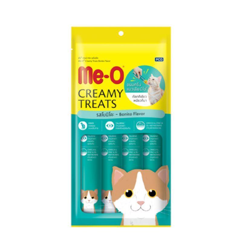 Me-О Кремовое лакомство для кошек с атлантической пеламидой