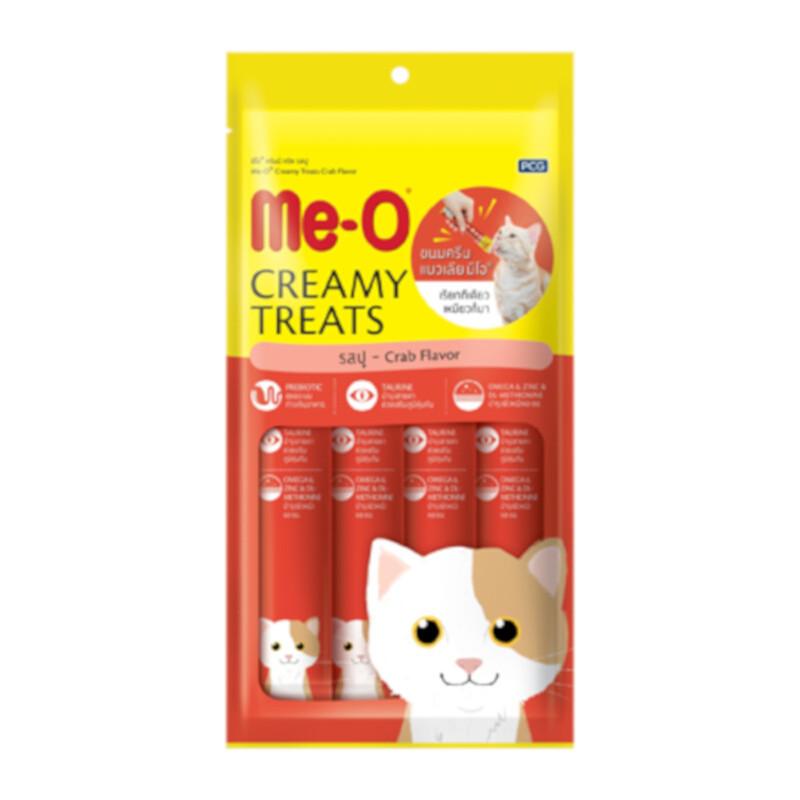 MeО Кремовое лакомство для кошек с мясом краба